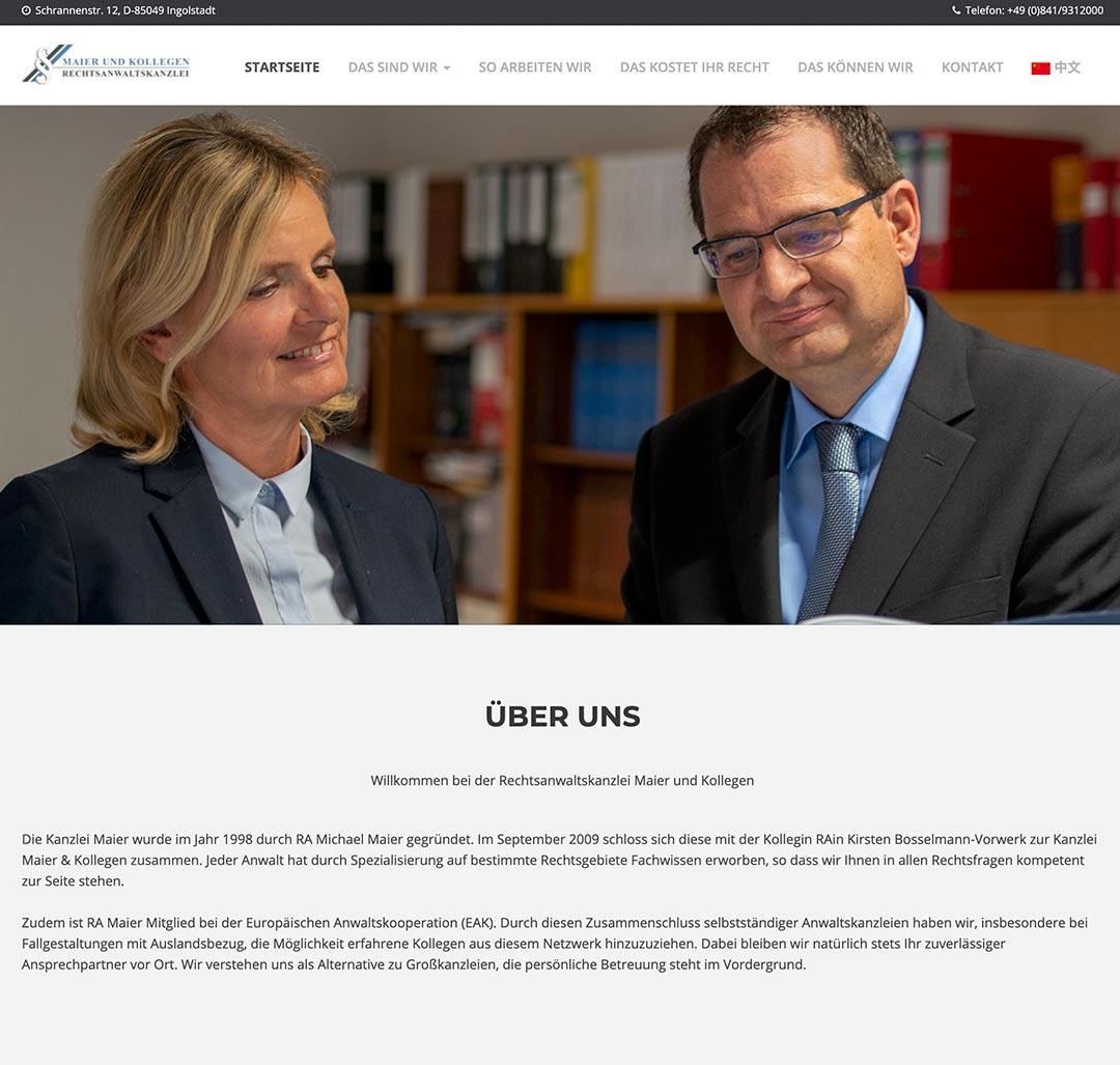 Rechtsanwaltskanzlei Maier und Kollegen Ingolstadt